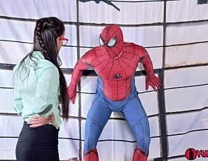 SofieMarieXXX/Aunt Mae Unclogs Spiderman