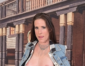 SofieMarieXXX/Jean Vest and Jean Skirt